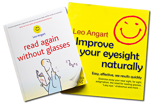 Improve your Eyesight & See Without Your Glasses Special Deal by Leo Angart