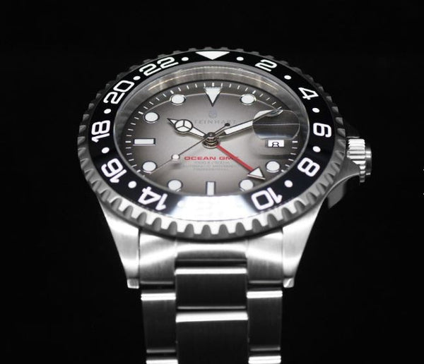 OCEAN 1 GMT PREMIUM BLACK CERAMIC - LIMITED exclusively only here available