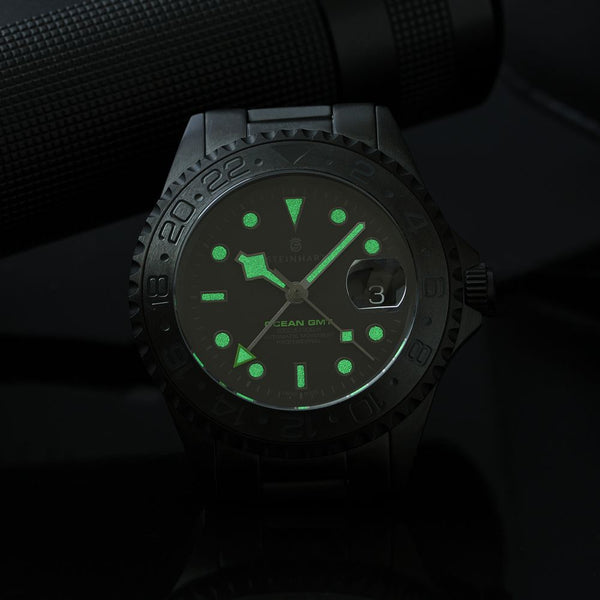 OCEAN One GMT Phantom green