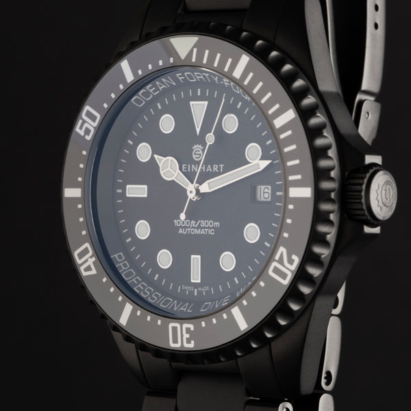 "OCEAN 44 DLC Premium ""exclusively only at OLKO Watches available"""