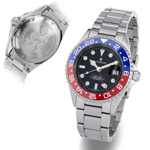 GMT-OCEAN 1 BLUE RED Ceramic