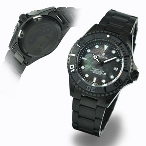 Ocean One 42 black DLC Perlmutt