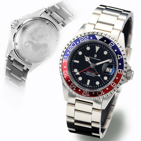 GMT-OCEAN ONE 39 BLUE RED Ceramic