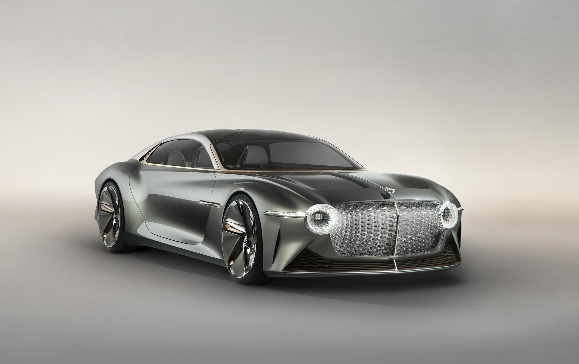 Introducing The Future: 2035 Bentley EX 100 GT Concept