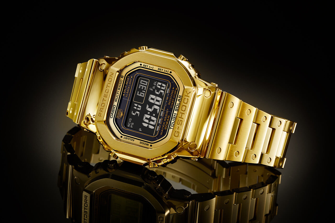 The $69,500 Pure Gold Casio G-Shock