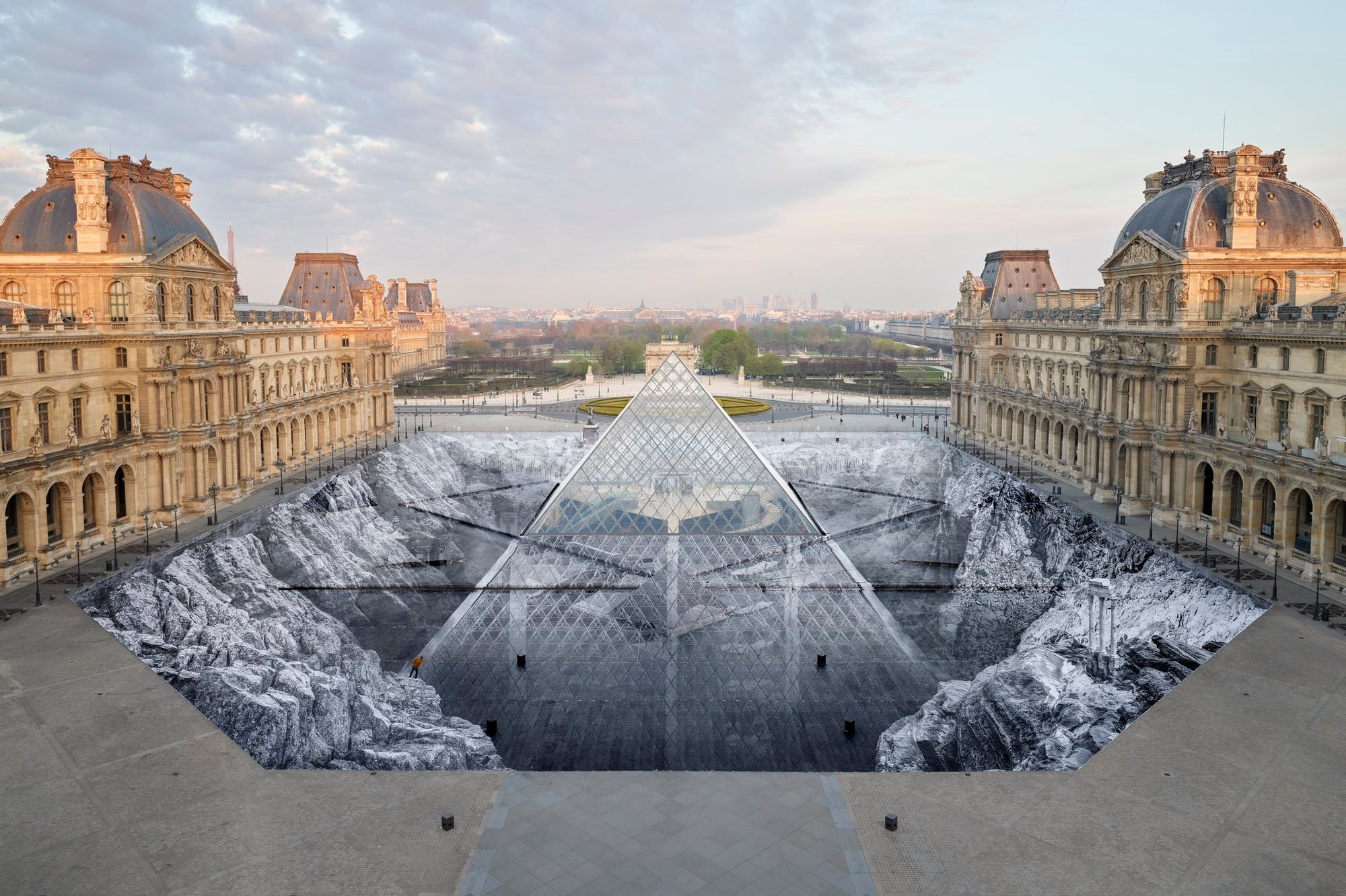 "Louvre Installation: ""The Secret of the Great Pyramid"""