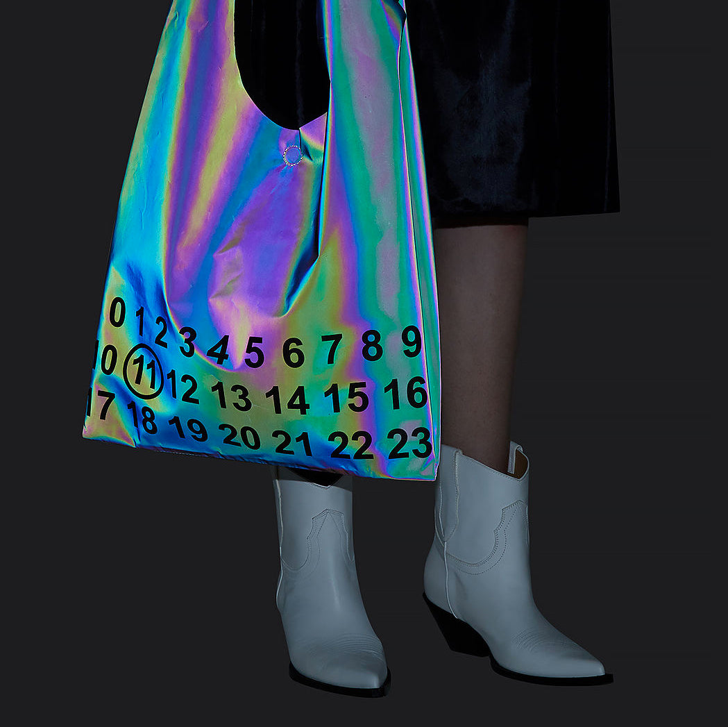 This Reflective Maison Margiela Tote is Winning 2018