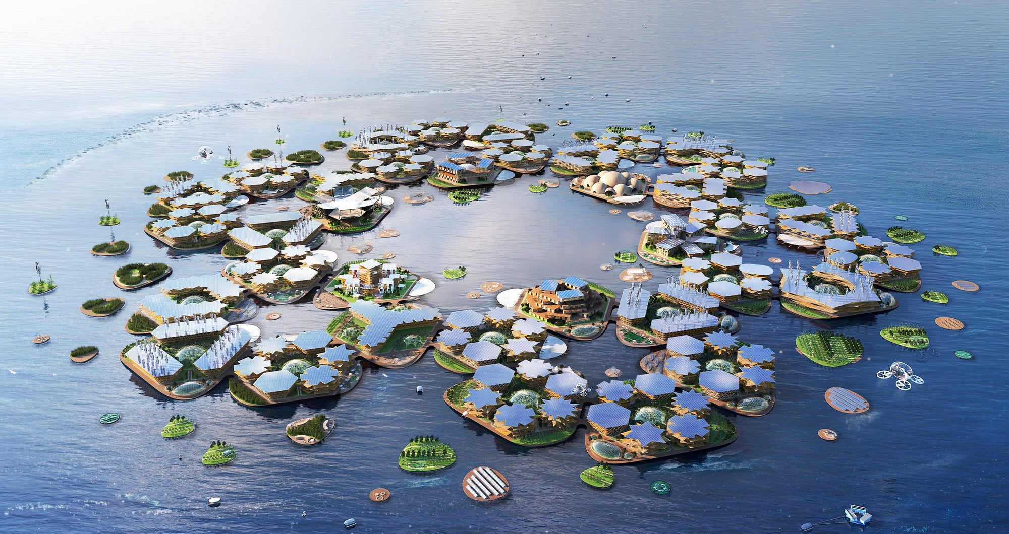 Oceanix: The Floating City Concept