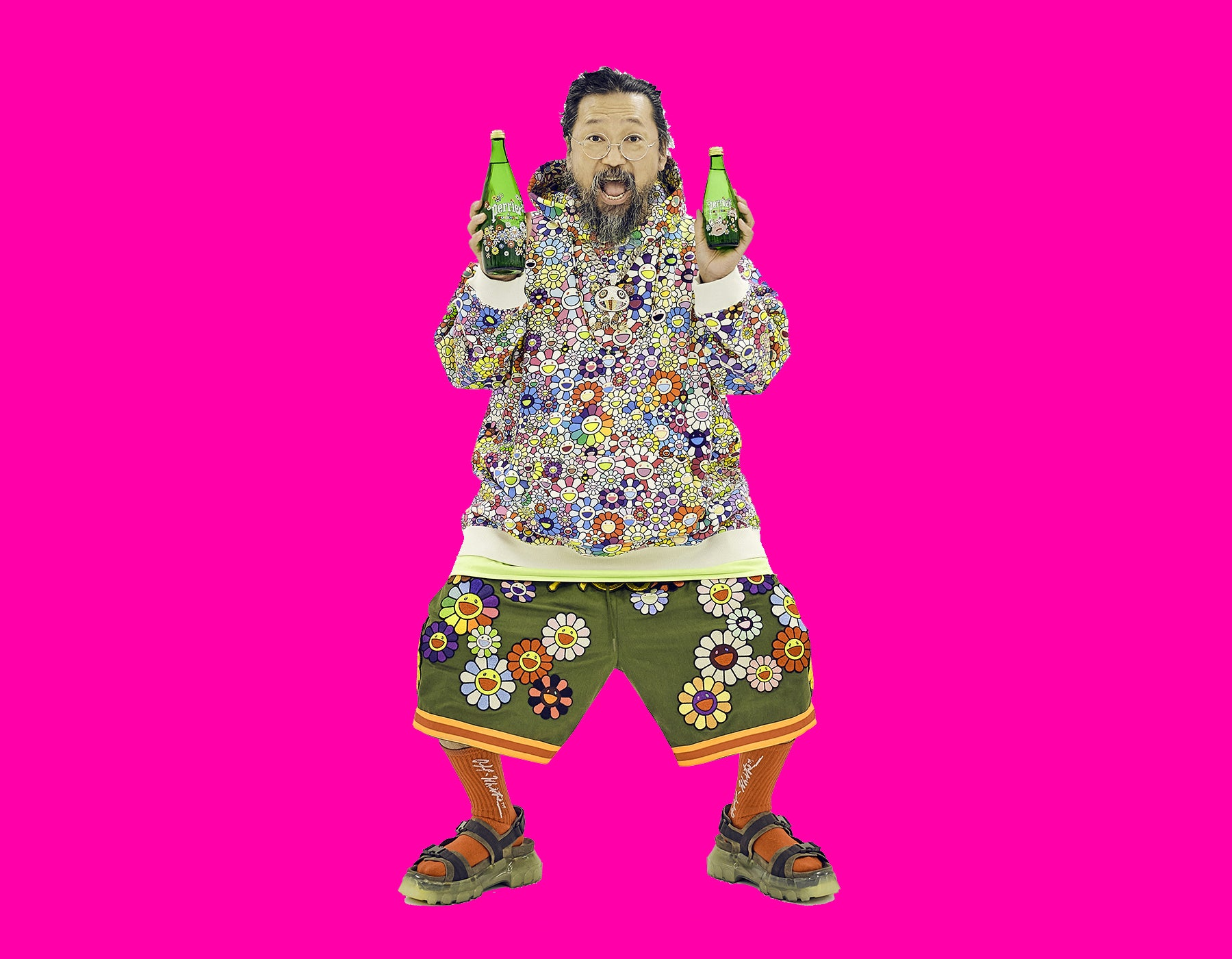PERRIER® Taps Takashi Murakami For An Exciting New Art Collaboration