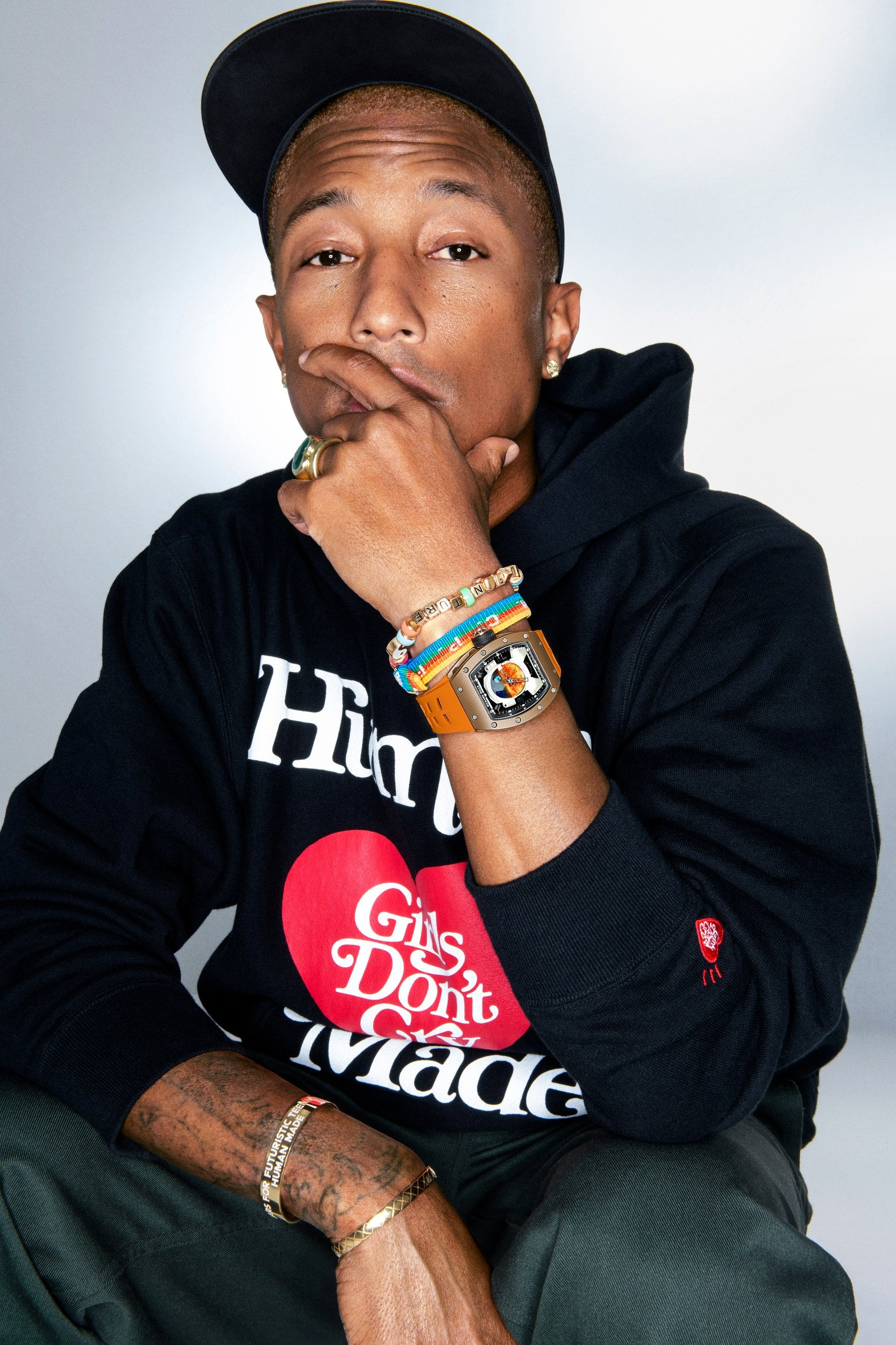 The Million Dollar Pharrell x Richard Mille Watch