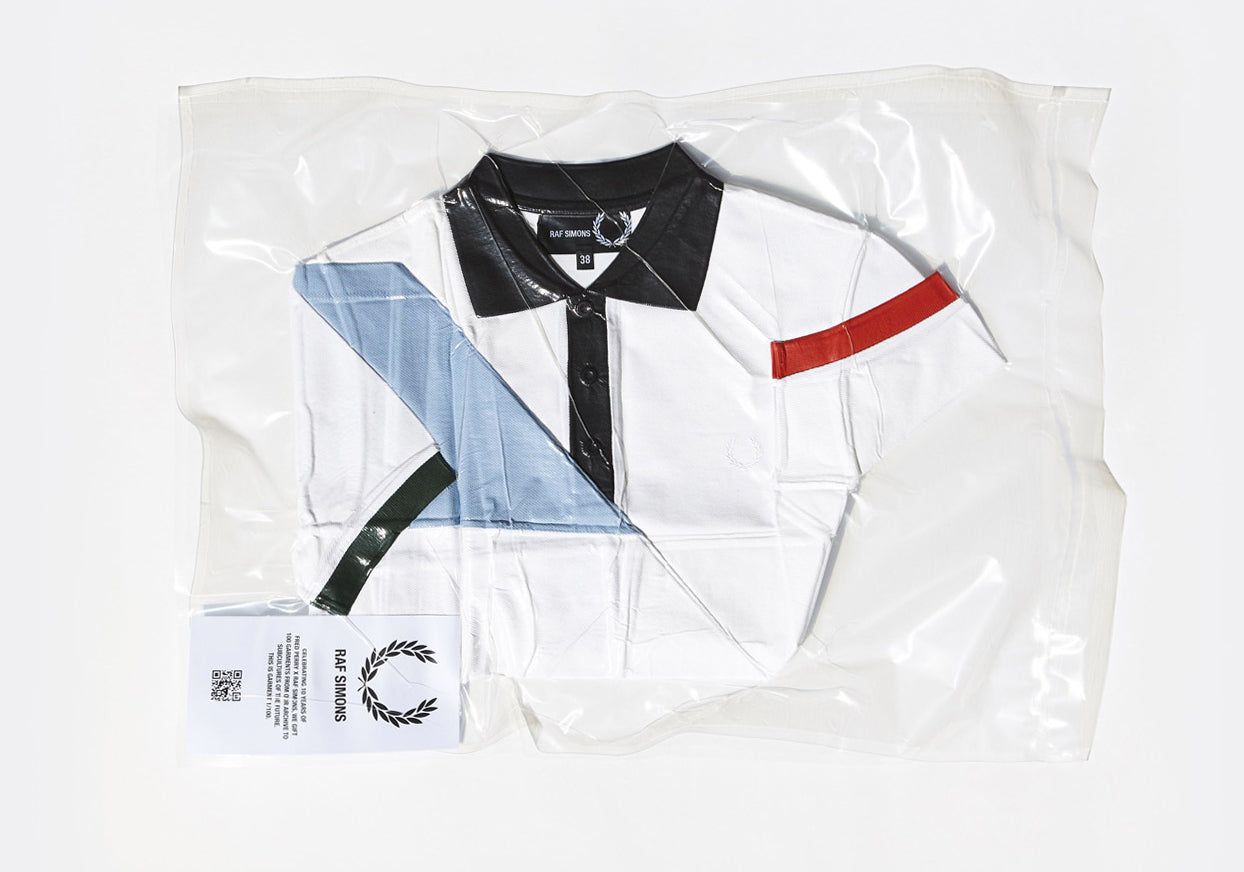 The Fred Perry x Raf Simons Vacuum Sealed 10th Anniversary Collection