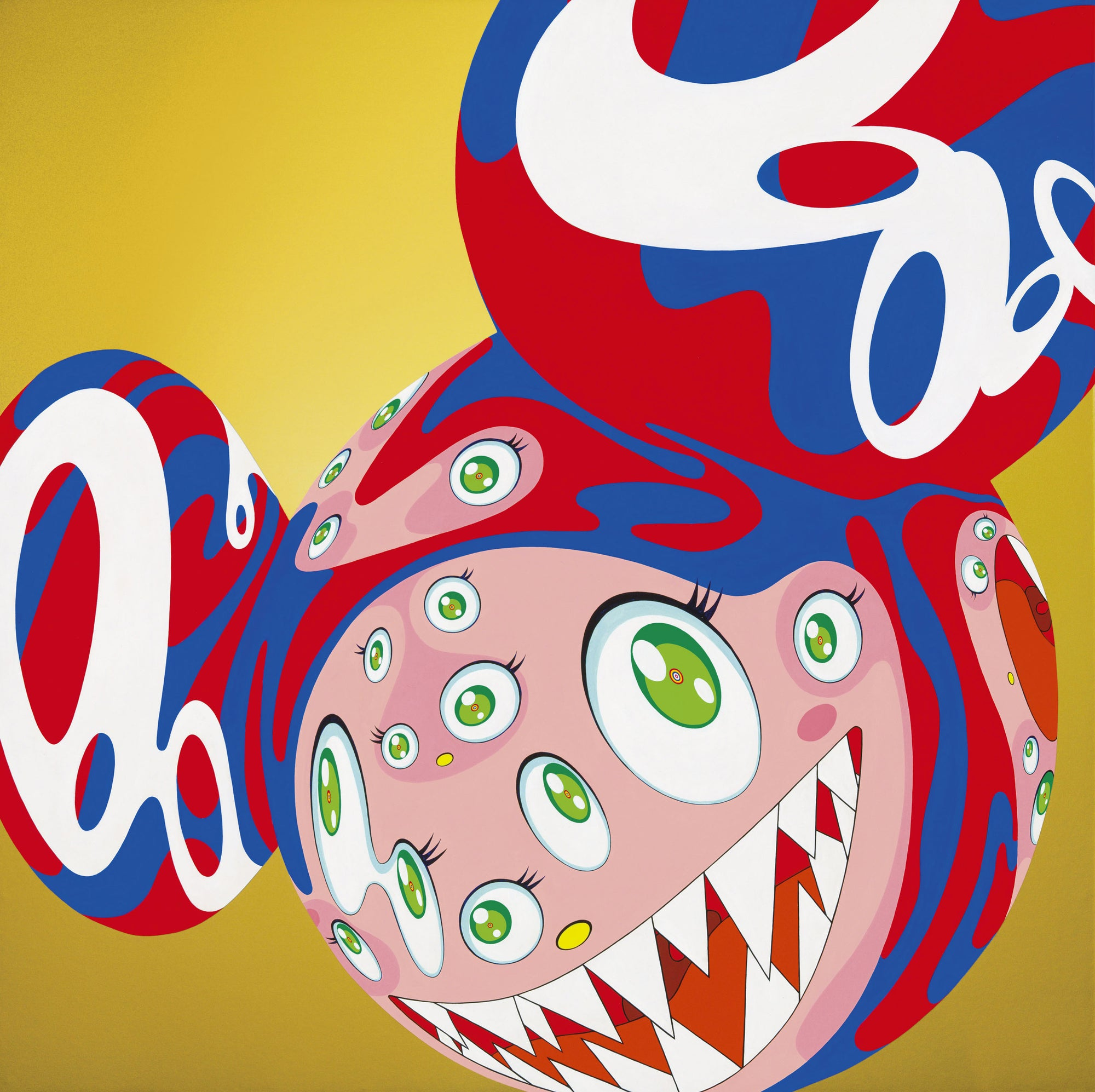 "Pop Art Appreciation: Takashi Murakami's ""Melting DOB C"""