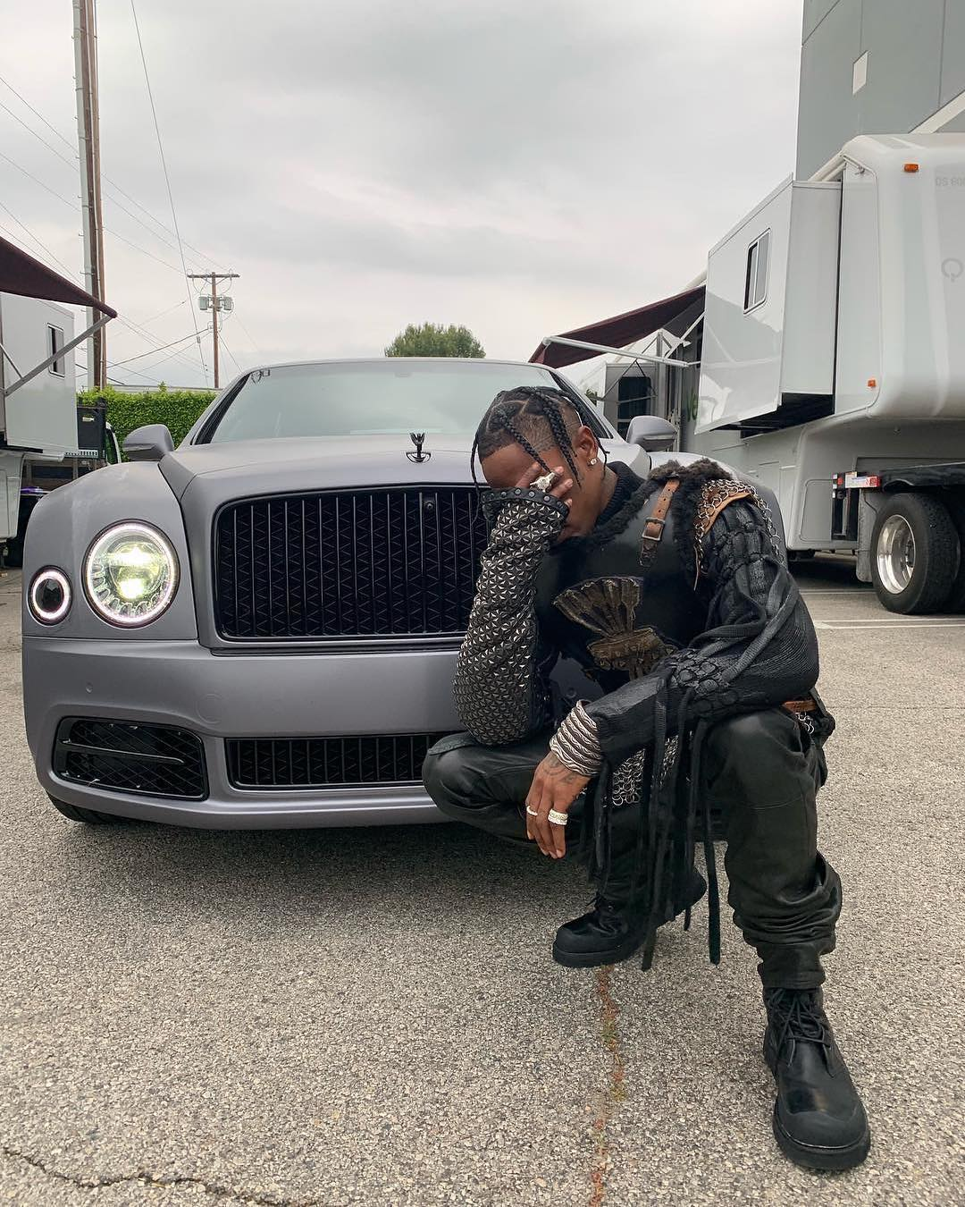Travis Scott Goes Game Of Thrones in his Recent Instagram Photo Op