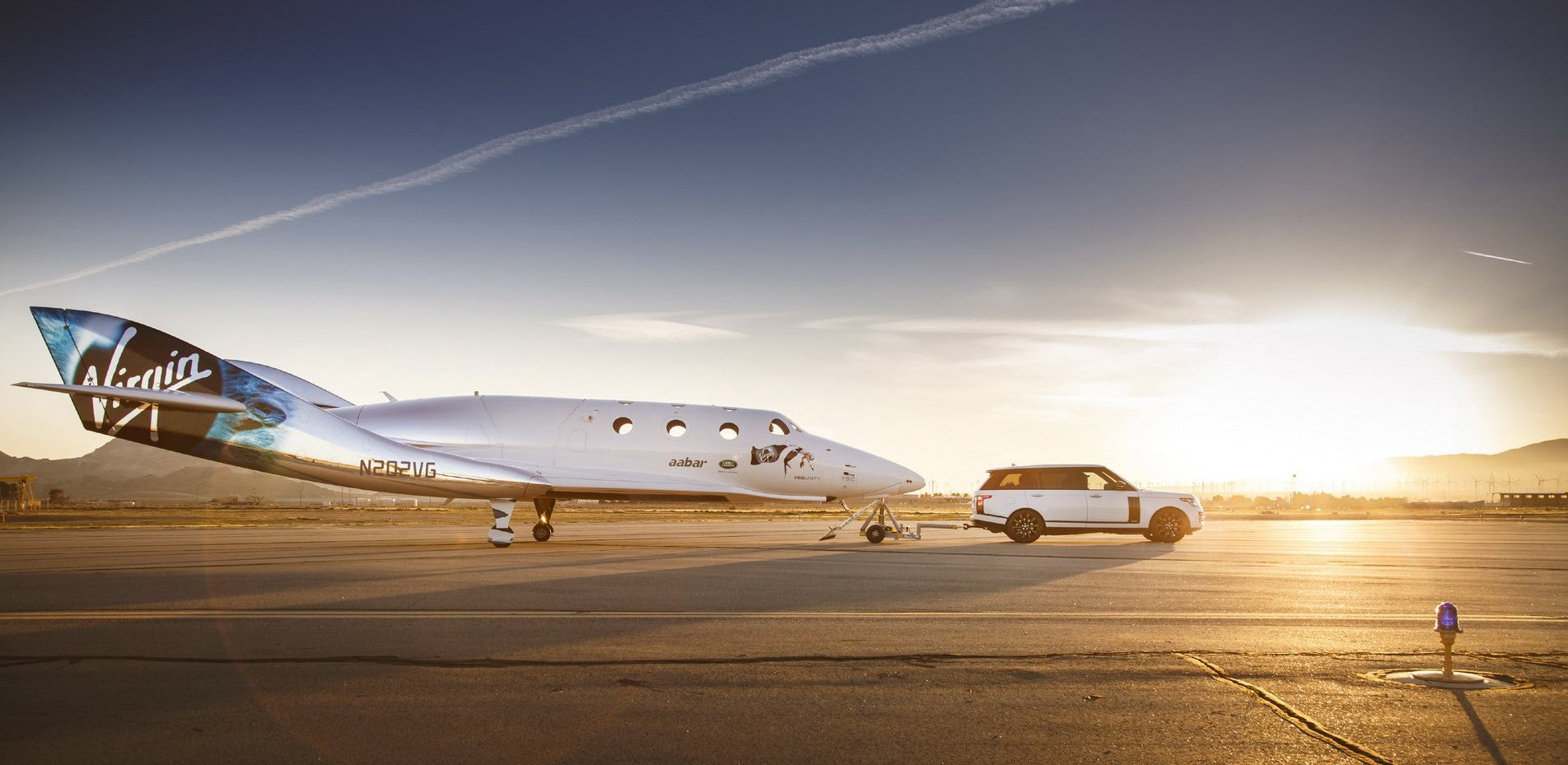 """Zero Gravity"" Range Rover Astronaut Edition by Virgin Galactic"