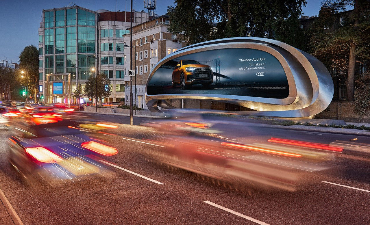 JCDecaux Future Billboards Have Arrived By Zaha Hadid Design