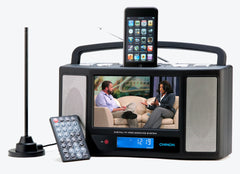 CHINON AVi iPod Docking Station with ATSC Digital TV