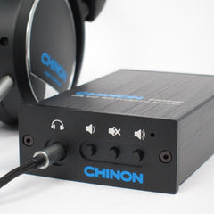 Chinon CH-DA260U USB DAC with Headphone Amplifier in Aluminum Case