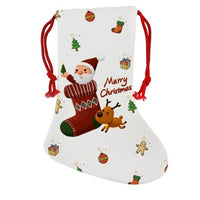 Pack of 4 - Sublimation Blank Christmas Linen Stocking