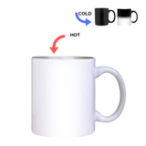 Color Changing Heat Activated Sublimation Mug, 11 oz