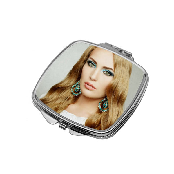 Pack of 5 pcs - Compact Square Mirror for Sublimation