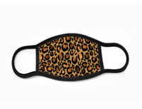 Pack of 3 Face Masks with Filter Pocket - Leopard Print #20