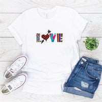 """Love #4 "" Sublimation Transfer"