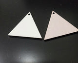 Pack of 5 pairs - MDF Earrings - triangle shape for Sublimation