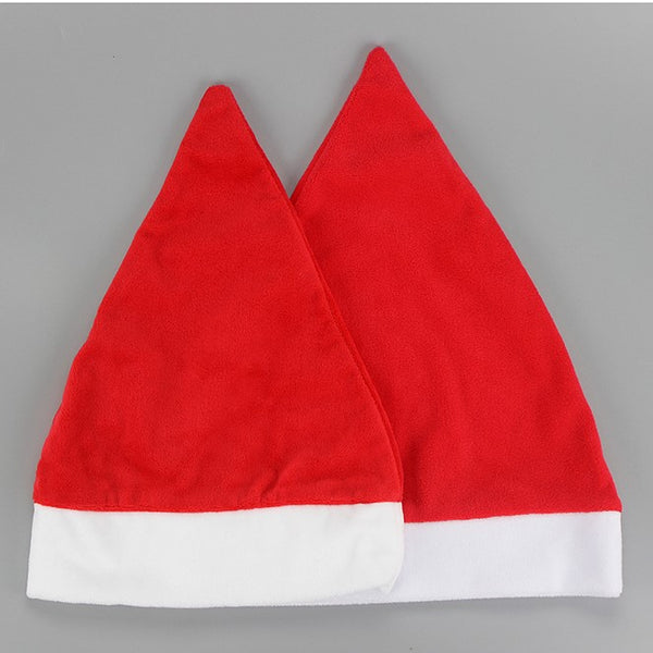 Pack of 5 - Christmas Red Santa Hat for Sublimation