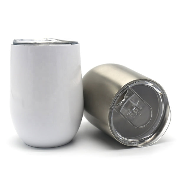 Sublimation 10oz Double Walled Insulated Stainless Steel or White Wine Cup Tumbler