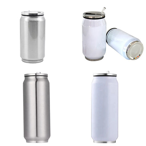 Bundle #2 - Sublimation Blanks: 12oz or 17oz Stainless Steel or White Coke Cans