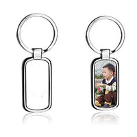 Pack of 5 - Sublimation Stainless Steel Keychain for Sublimation