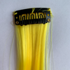 Clip in yellow hair extensions