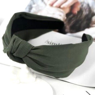 Claudi Headband - Dark Green