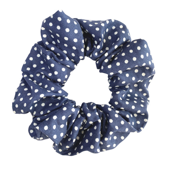 Dottie in Navy Scrunchies