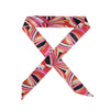 Gorgeous hot pink kaleidoscope hair scarf