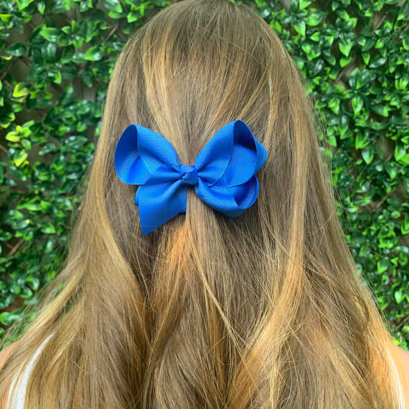 Royal Blue Bow