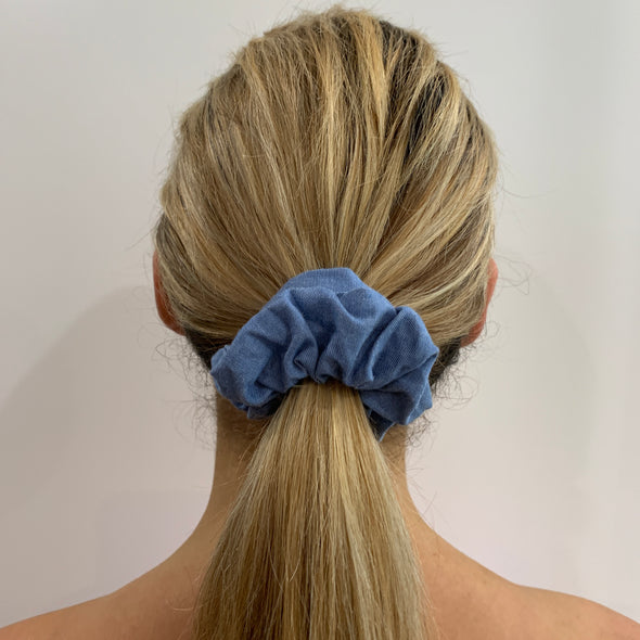 Demi Scrunchie - Blue