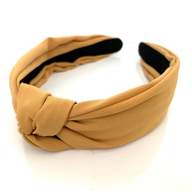 Claudi Headband - Yellow