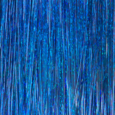 Royal blue hair tinsel