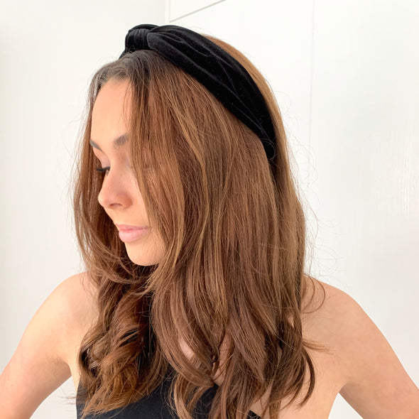 Evie Headband - Black