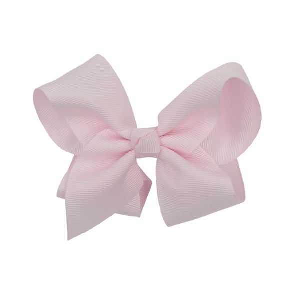 Pale pink bow