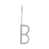 Initial B - silver colour bobby pin
