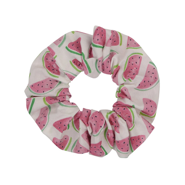 MELAmelon White Scrunchie