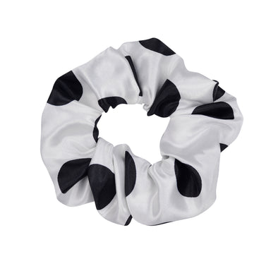 Bec In White Scrunchie