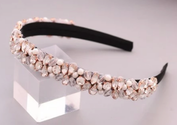 Eloise Headband - Rose Gold