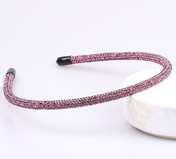 Edie Headband - purple/pink