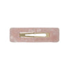 Gorgeous pink Tortoiseshell Large Rectangle Hair Clip