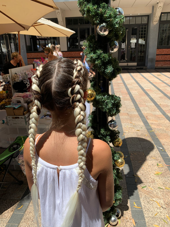 Jumbo Hair Braid (Blonde)