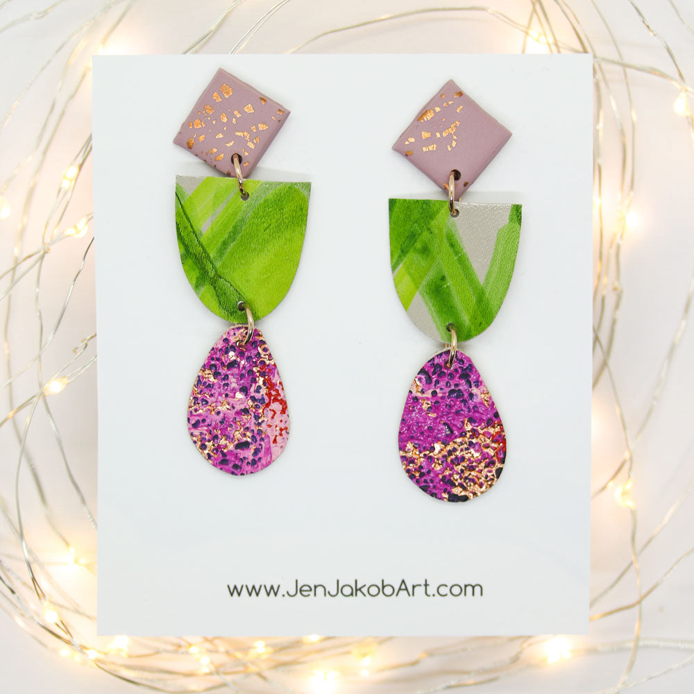 3-Tier Earrings S #15