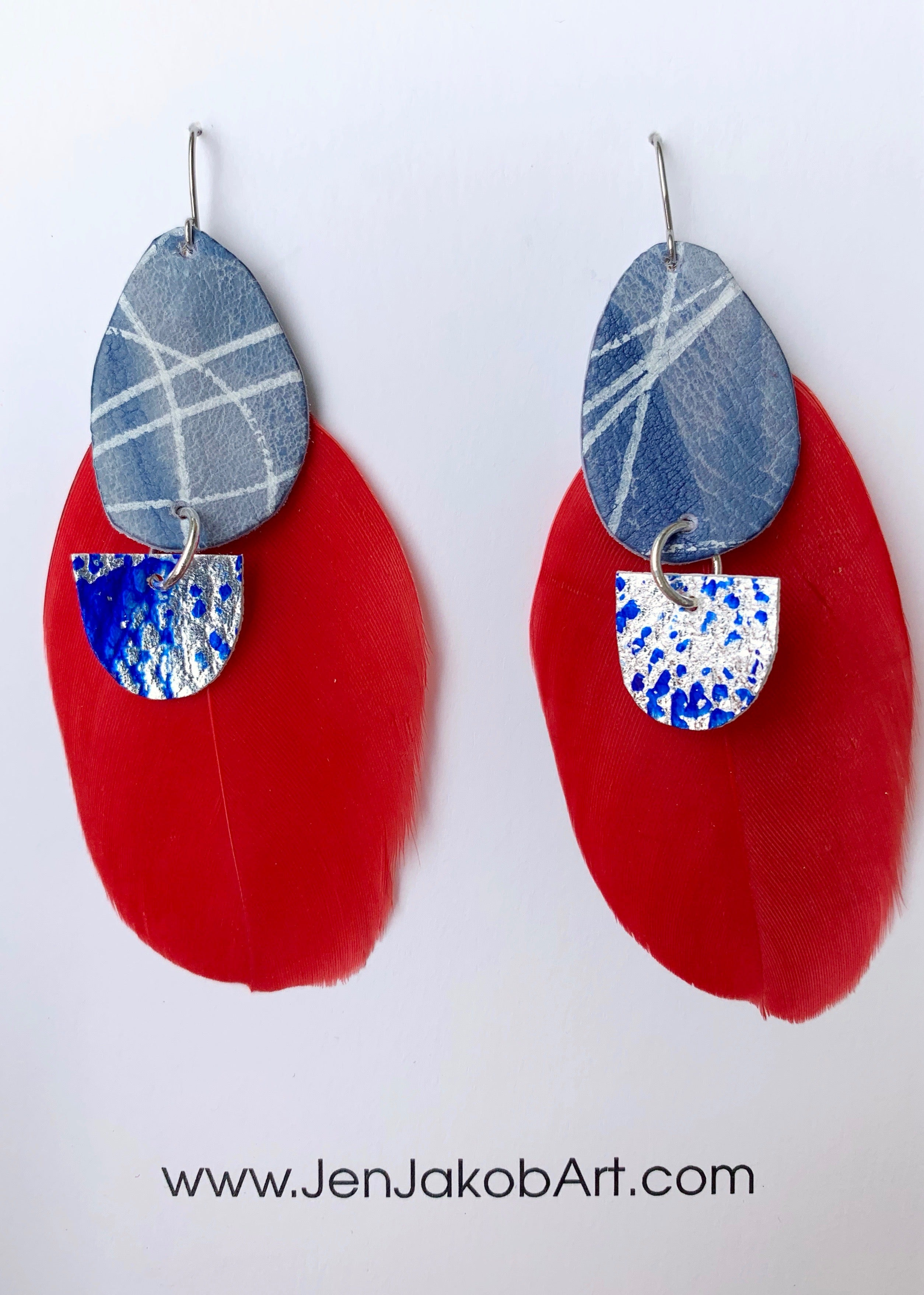 Feather Earrings #1